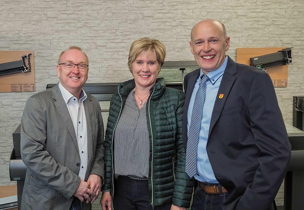 Ralf Schmidt, Susanne und Erwin Admas