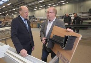 Bürgermeister Adams mit Ralf Schmidt